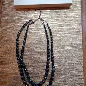 Jewelry - Macy's Double Strands Glass Necklace